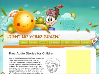 http://audiostories.lightupyourbrain.com/
